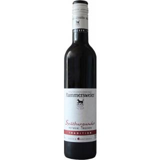 2015 Spätburgunder Rotwein Tradition QbA trocken 0,5L - Winzergenossenschaft Rammersweier