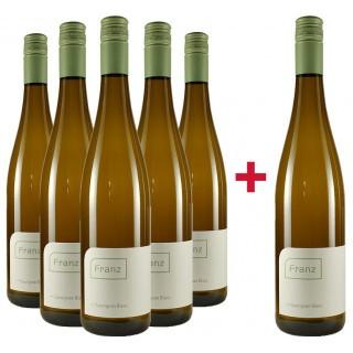 5+1 Paket Sauvignon Blanc trocken - Weingut Franz