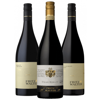 Rotwein-Paket zu Gegrilltem - Weingut Fritz Walter