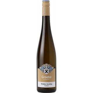 2018 Weißer Riesling feinherb BIO - Weingut Groebe am Bergkloster