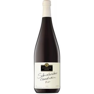 Schwäbischer Landwein Rot halbtrocken 1L - Bottwartaler Winzer