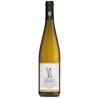 2020 Serriger Schloss Saarfelser Schlossberg Riesling Kabinett VDP.Grosse Lage fruchtig süß - Weingut Vereinigte Hospitien