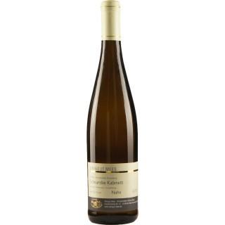 2018 Kreuznacher Rosenberg Scheurebe Kabinett Weißwein lieblich - Weingut Mees