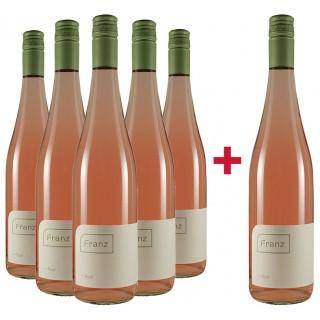 5+1 Paket Rosé trocken - Weingut Franz