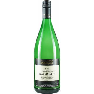 2020 Nußdorfer Bischofskreuz Morio-Muskat lieblich 1,0 L - Wein- und Sektgut Wambsganß