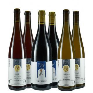 Naturwein-Paket Hubert Lay - Ökologisches Weingut Hubert Lay