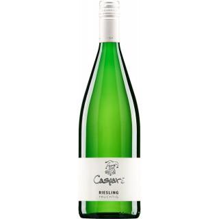 2020 Riesling fruchtsüß lieblich 1,0 L - Weingut Caspari-Kappel