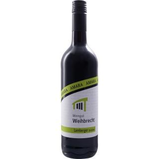 """2018 """"amara"""" Schwabbacher Himmelreich Lemberger trocken - Weingut Weihbrecht"""