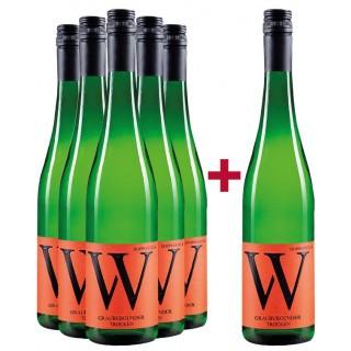 5+1 Grauburgunder Paket - Weingut Wasem Doppelstück