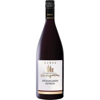 2018 Spätburgunder Rotwein halbtrocken 1L - Weinmanufaktur Weingarten