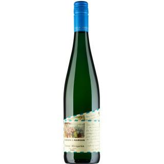 2020 HUESGEN & MARGAN Trabener Würzgarten Riesling trocken - Weingut Villa Huesgen