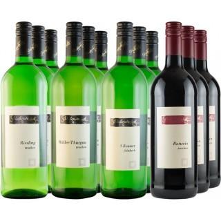 Gutswein Liter-Probierpaket // Weingut Schloßgartenhof
