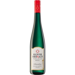 2019 Cochemer Sonnenberg Riesling Kabinett trocken - Weingut Kloster Ebernach