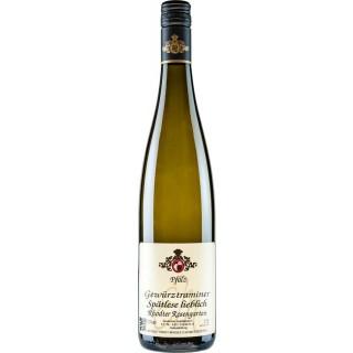 2017 Gewürztraminer Spätlese lieblich - Wein- und Sektgut Ernst Minges