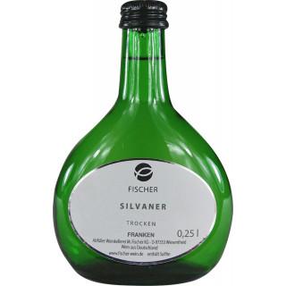 "3x 2018 Silvaner Kabinett ""Filetstück"" (250 ml BB) trocken 0,25 L - Weingut Fischer"