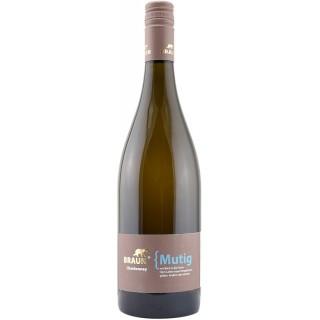 2018 { Mutig Chardonnay Spätlese Barrique trocken - Familienweingut Braun