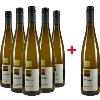 5+1 Aktion Riesling Nierstein trocken  - Weingut Strub 1710
