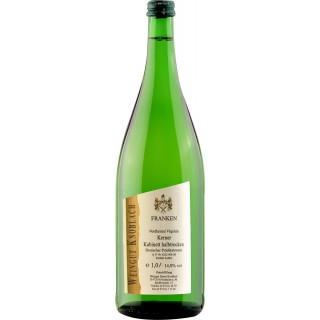 2019 Kerner Kabinett halbtrocken 1L - Weingut Knoblach