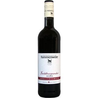 2015 Spätburgunder Rotwein QbA - Winzergenossenschaft Rammersweier