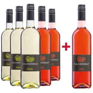 Sommerhauch Paket blanc & rose - Weingut Kalkbödele