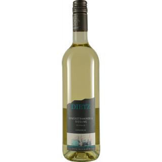 2020 Cuvée Weiß GEWÜRZTRAMINER & RIESLING feinherb - Weingut Tom & Bernd Dietz