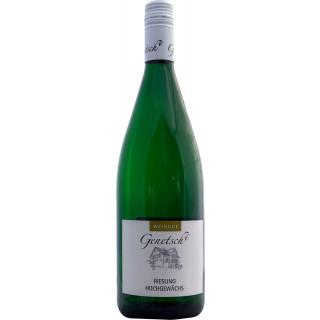 2018 Riesling Hochgewächs süß 1,0 L - Weingut Genetsch