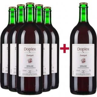 5+1 Liter Zweigelt trocken - Weingut Dopler