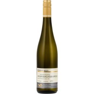 2017 Weißer Burgunder Spätlese Weißwein trocken Nahe Kreuznacher Rosenberg - Weingut Mees