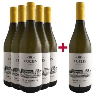 5+1 Paket Gelber Muskateller - Weingut Fuchs