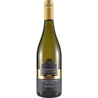 2018 Gewürztraminer Spätlese lieblich - Weinkontor Edenkoben (Winzergenossenschaft Edenkoben)