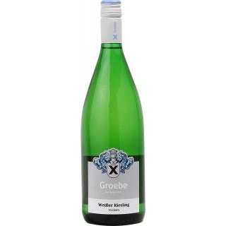 2018 Weißer Riesling trocken 1L BIO - Weingut Groebe am Bergkloster