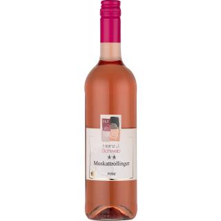2019 Muskattrollinger Rosé** lieblich - Weingut Heinz J. Schwab