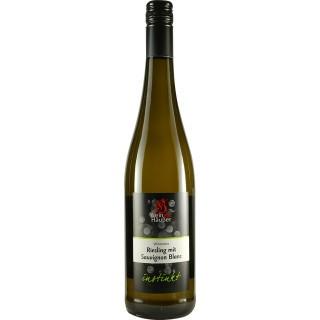2019 Cuvée Weiß Riesling mit Sauvignon Blanc INSTINKT trocken - Weingut Häußer