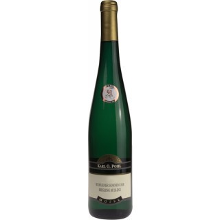 2015 Wehlener Sonnenuhr Riesling Auslese süß - Weingut Karl O. Pohl