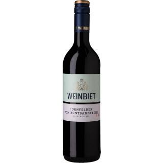 2019 Dornfelder vom Buntsandstein halbtrocken - Weinbiet Manufaktur