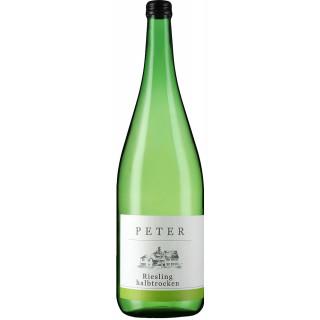 2020 Riesling halbtrocken 1,0 L - Weingut Peter