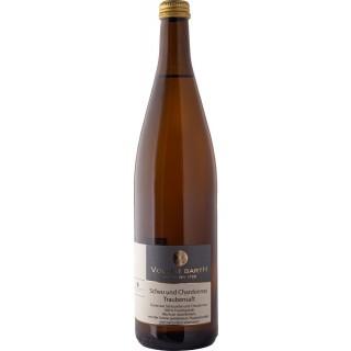 Weißer Traubensaft aus Scheurebe und Chardonnay - Weingut Volker Barth