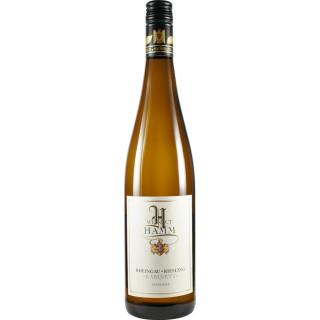 2019 Rheingau Riesling >>Kabinett süß Bio - Weingut Hamm