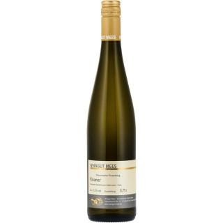 2017 Rivaner halbtrocken Kreuznacher Rosenberg Nahe Weißwein QbA - Weingut Mees
