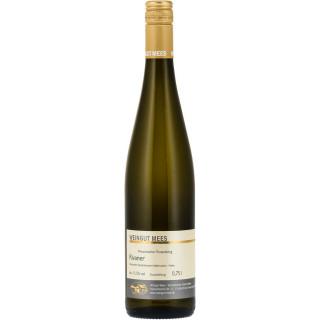2017 Rivaner Qualitätswein QbA Weißwein halbtrocken Nahe Kreuznacher Rosenberg - Weingut Mees