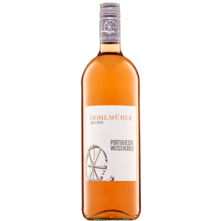 2019 Portugieser Weißherbst lieblich 1,0 L - Weingut Dohlmühle