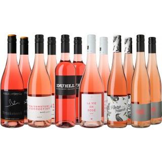 Große Letzte Flaschen Vorteilspaket Rosé