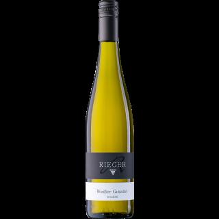 2020 Weißer Gutedel trocken Bio - Weingut Rieger