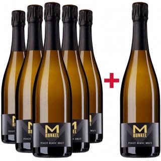 5+1 Paket Sekt Pinot Blanc Brut - Weingut Runkel