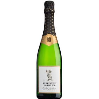2018 Riesling-Sekt Klassische gärung extra brut - Weingut Vereinigte Hospitien