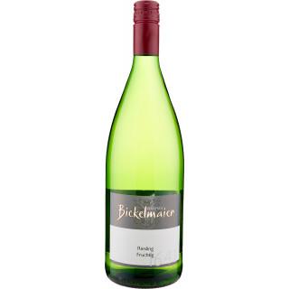 2020 Riesling fruchtig lieblich 1,0 L - Weingut Manfred Bickelmaier
