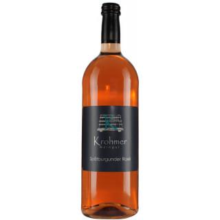 2019 Spätburgunder Rosé halbtrocken 1,0 L - Weingut Krohmer