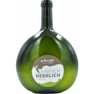 2019 Silvaner Doppel-Magnum-Bocksbeutel trocken 3,0 L - Weingut Schmitt Bergtheim