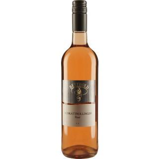 2020 Muskattrollinger Rosé ** lieblich - Weingut Berthold