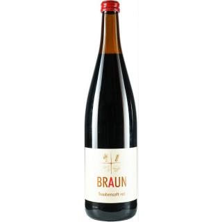 3x Traubensaft rot - Weingut Armin Braun